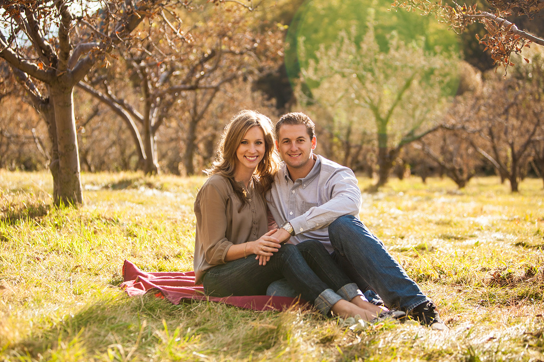 Oak Glen Engagement
